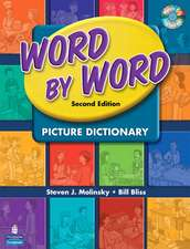 Word by Word Picture Dictionary with WordSongs Music CD