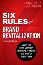 Six Rules of Brand Revitalization