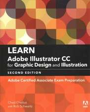 Learn Adobe Illustrator CC for Graphic Design and Illustration (2018 Release): Adobe Certified Associate Exam Preparation
