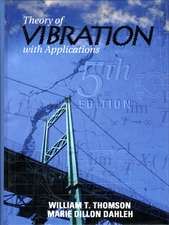 Theory of Vibrations with Applications