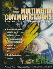 Multimedia Communications:  Protocols and Applications