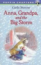 Anna, Grandpa, and the Big Storm