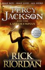 The Last Olympian : Percy Jackson and the Olympians vol 5