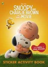 The Peanuts Movie Sticker Activity Book