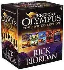 Heroes of Olympus Box Set: 5 Titles