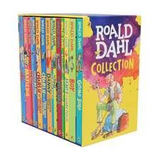 Colecția de cărți Roald Dahl în engleză : 15 cărți fantastice