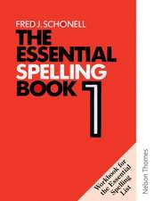 The Essential Spelling Book 1 - Workbook