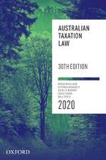 Australian Taxation Law 2020