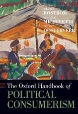 The Oxford Handbook of Political Consumerism