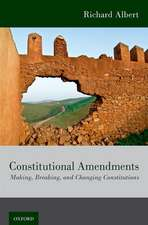 Constitutional Amendments: Making, Breaking, and Changing Constitutions
