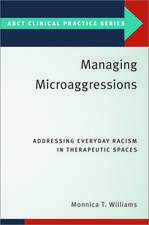 Managing Microaggressions