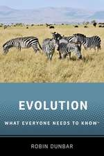 Evolution: What Everyone Needs to Know®