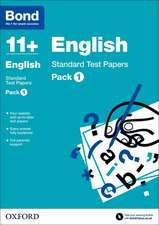 Bond 11 +: English: Standard Test Papers: Pack 1