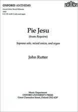Pie Jesu: from Requiem