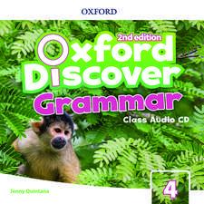 Oxford Discover: Level 4: Grammar Class Audio CDs