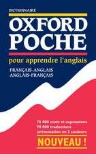 Dictionnaire Oxford Poche pour apprendre l'anglais (français-anglais / anglais-français)