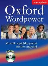 Oxford Wordpower: słownik angielsko-polski / polsko-angielski: CD-ROM gratis