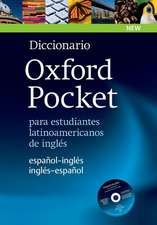 Diccionario Oxford Pocket para estudiantes latinoamericanos de inglés: This new bilingual learner's dictionary with CD-ROM is specifically designed for Latin American students of English.