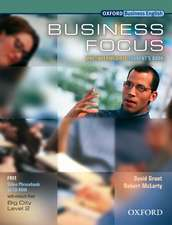 Business Focus. Pre-Intermediate. Student's Book and CD-ROM