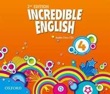 Incredible English: 4: Class Audio CDs (3 Discs)