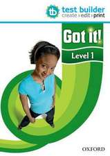 Got it! Level 1 Test Builder: A four-level American English course for teenage learners