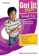 Got It! Plus: Level 3: Student Pack A: A four-level American English course for teenage learners