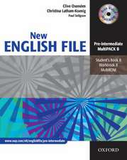English File - New Edition. Pre-Intermediate. Student's Book, Workbook with Key und CD-Extra