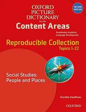 Oxford Picture Dictionary for the Content Areas: Reproducible Social Studies: People and Places