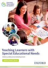 Teaching Learners with Special Educational Needs Participant Code Card