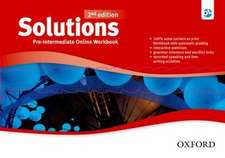 Solutions: Pre-Intermediate: Online Workbook - Card with Access Code