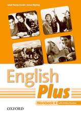 English Plus: 4: Workbook with Online Practice