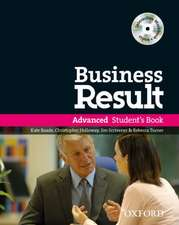 Business Result: Advanced: Student's Book Pack