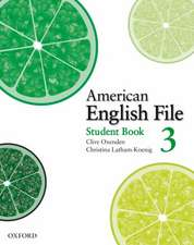 American English File Level 3: Student Book with Online Skills Practice