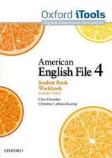 American English File: Level 4: iTools
