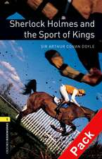 Oxford Bookworms Library: Level 1:: Sherlock Holmes and the Sport of Kings audio CD pack