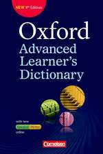 Oxford Advanced Learner's Dictionary B2-C2. Wörterbuch (Kartoniert) mit Online-Zugangscode