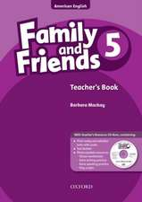 Family and Friends American Edition: 5: Teacher's Book & CD-ROM Pack