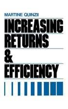 Increasing Returns and Economic Efficiency