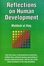Reflections on Human Development