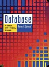 Database: Models, Languages, Design