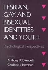 Lesbian, Gay, and Bisexual Identities and Youth: Psychological Perspectives