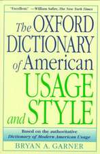 The Oxford Dictionary of Usage and Style