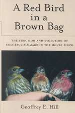 A Red Bird in a Brown Bag: The Function and Evolution of Colorful Plumage in the House Finch