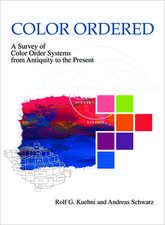 Color Ordered: A Survey of Color Order Systems from Antiquity to the Present