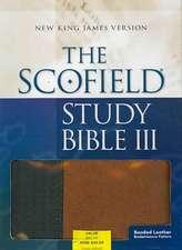 The Scofield® Study Bible III, NKJV