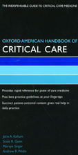 Oxford American Handbook of Critical Care: OUTLET