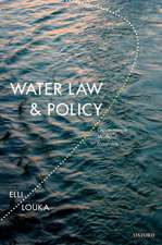 Water Law and Policy: Governance Without Frontiers