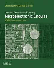 Laboratory Explorations to Accompany Microelectronic Circuits,