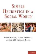 Simple Heuristics in a Social World