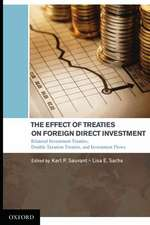 The Effect of Treaties on Foreign Direct Investment: Bilateral Investment Treaties, Double Taxation Treaties, and Investment Flows